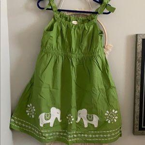 Gymboree Elephant dress size 7